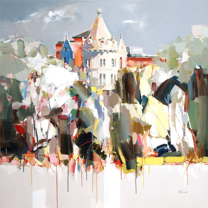 городской пейзаж Josef Kote - 07