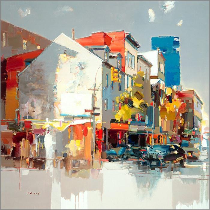 городской пейзаж Josef Kote - 09