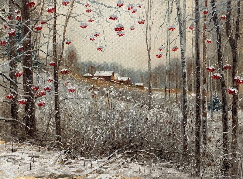 акварельный пейзаж Ольга Ивлева - 08