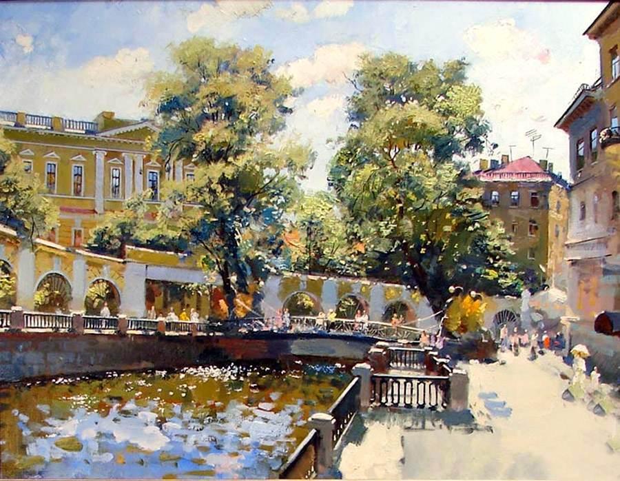 пейзажи Анатолий Лукаш - 01