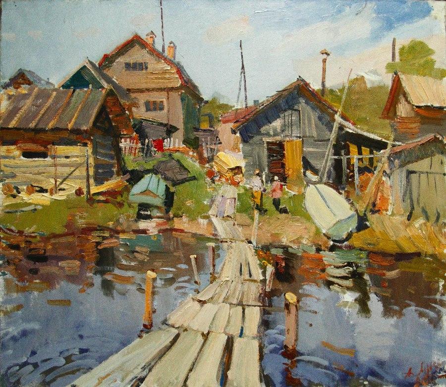 пейзажи Анатолий Лукаш - 03