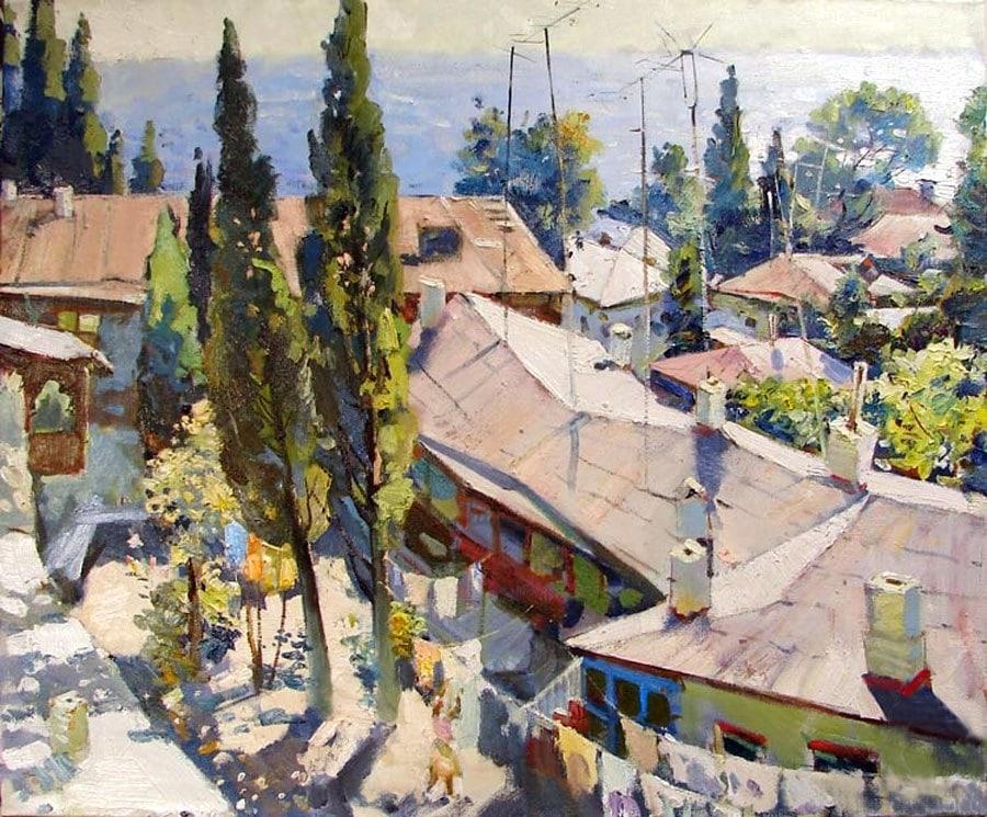 пейзажи Анатолий Лукаш - 04