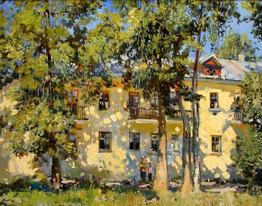 пейзажи Анатолий Лукаш - 05