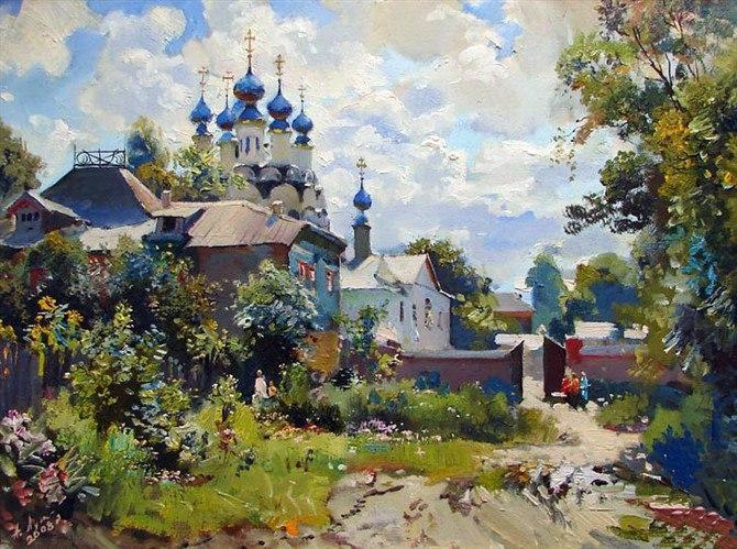 пейзажи Анатолий Лукаш - 06
