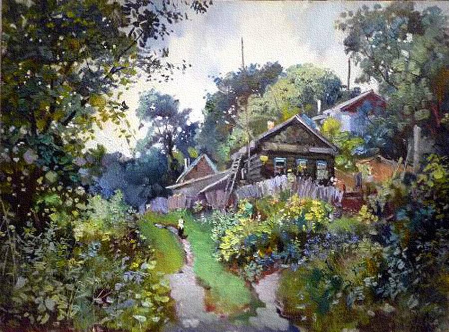 пейзажи Анатолий Лукаш - 07