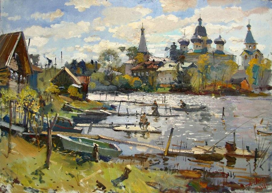 пейзажи Анатолий Лукаш - 08