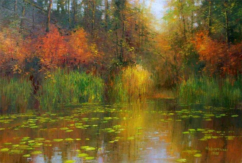 пейзажи художника Henryk Radziszewski - 07