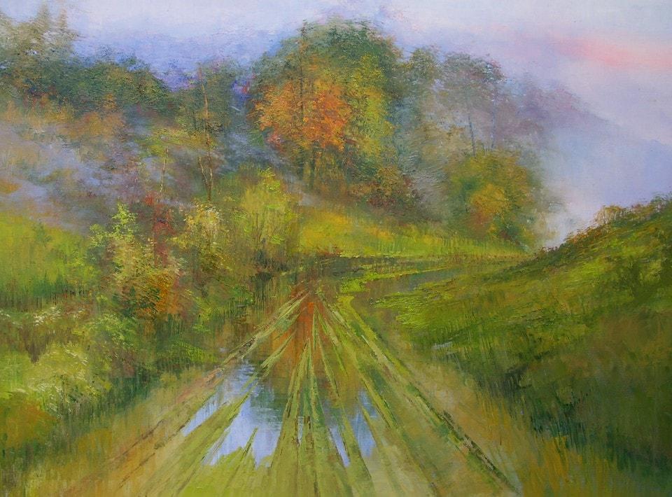 пейзажи художника Henryk Radziszewski - 08