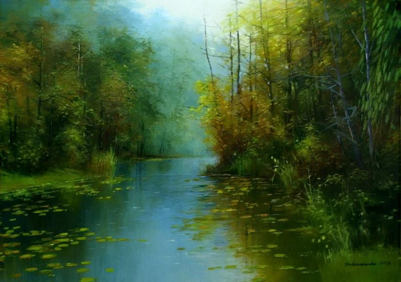 пейзажи художника Henryk Radziszewski - 09