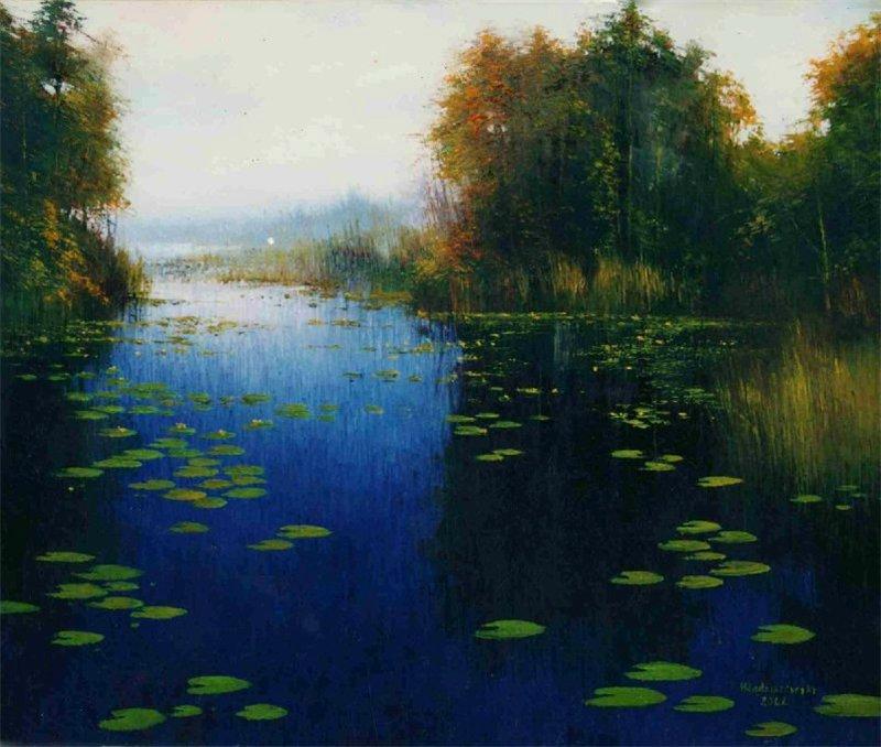 пейзажи художника Henryk Radziszewski - 11