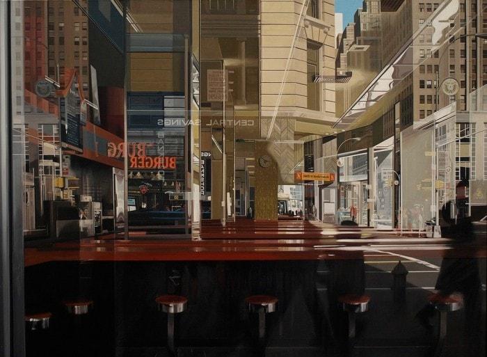 городские пейзажи Richard Estes - 02