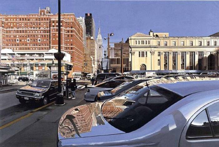 городские пейзажи Richard Estes - 04