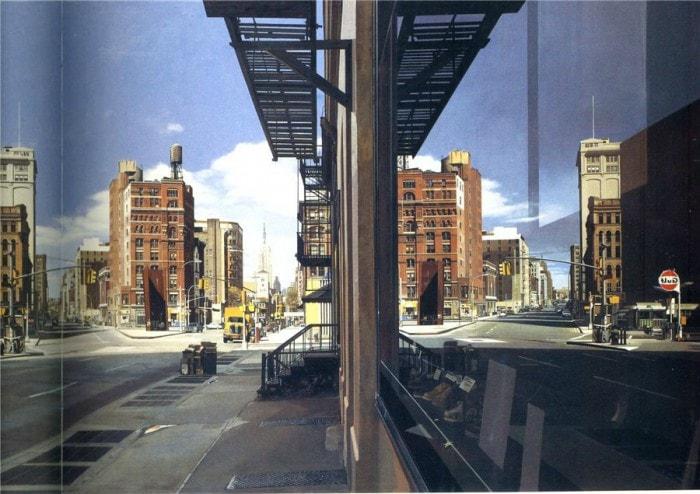 городские пейзажи Richard Estes - 05