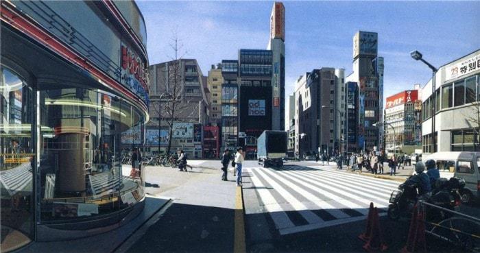 городские пейзажи Richard Estes - 09