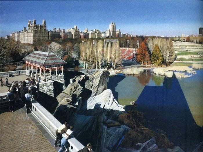 городские пейзажи Richard Estes - 11