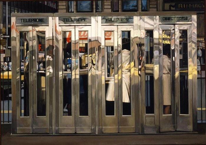 городские пейзажи Richard Estes - 12