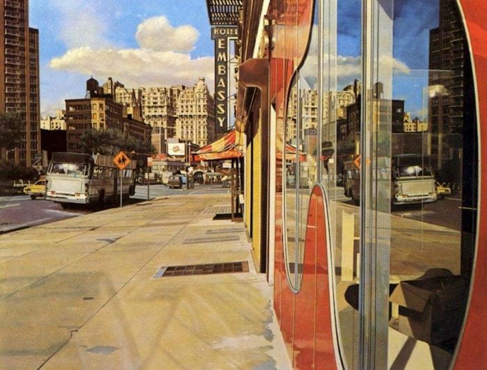 городские пейзажи Richard Estes - 15