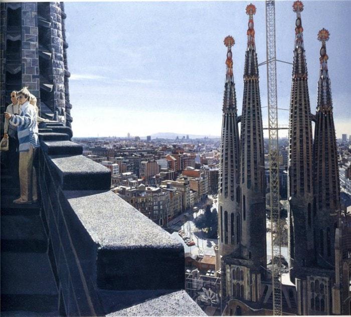 городские пейзажи Richard Estes - 16