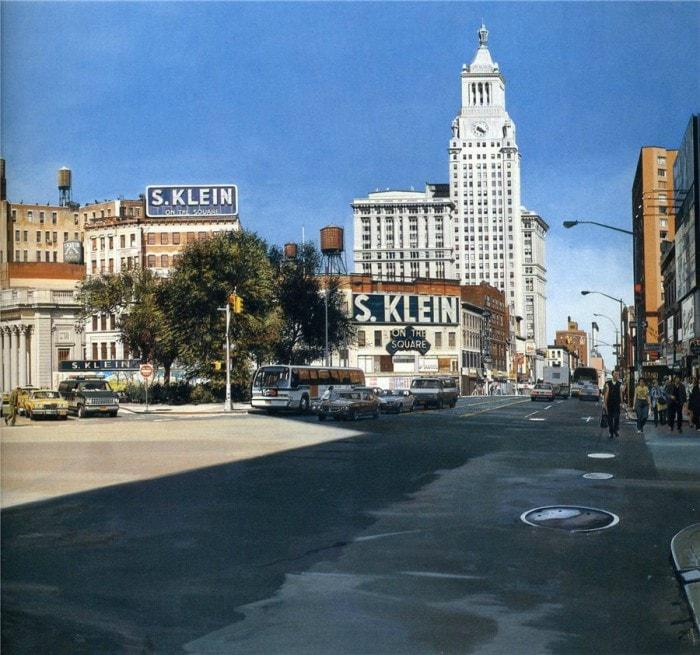 городские пейзажи Richard Estes - 17