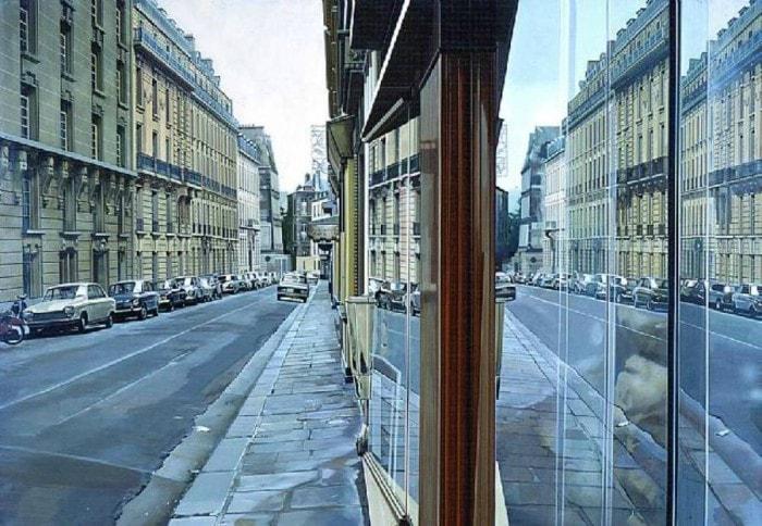 городские пейзажи Richard Estes - 18