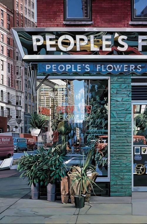 городские пейзажи Richard Estes - 19