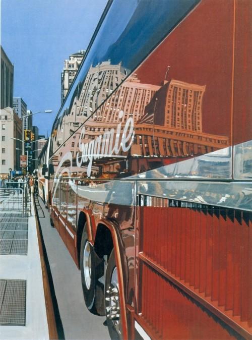 городские пейзажи Richard Estes - 20
