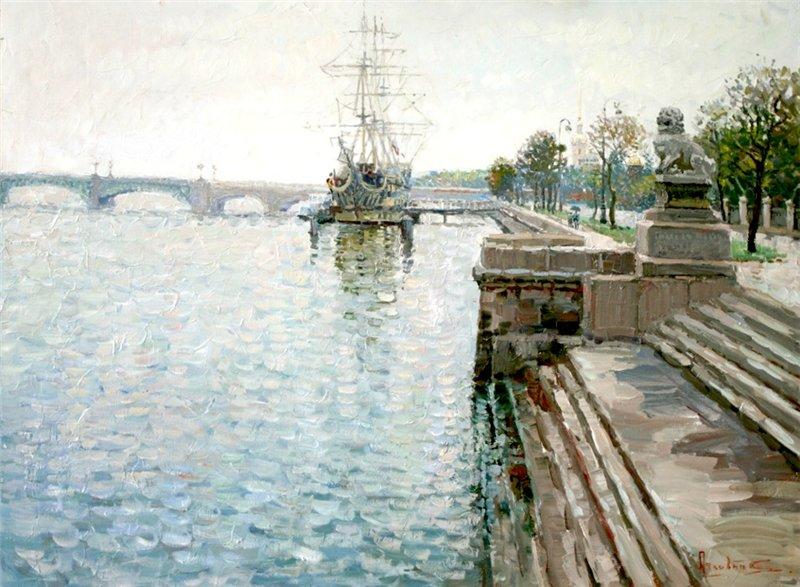 пейзажи Сергей Ляхович - 09