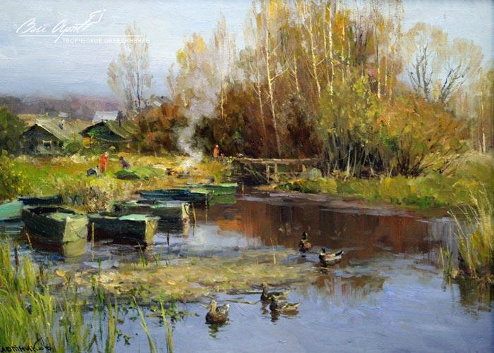 пейзажи Вячеслав Плотников - 03