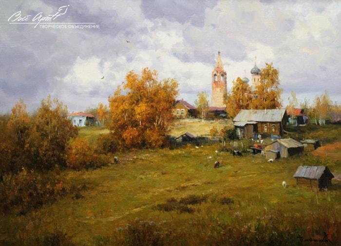 пейзажи Вячеслав Плотников - 04
