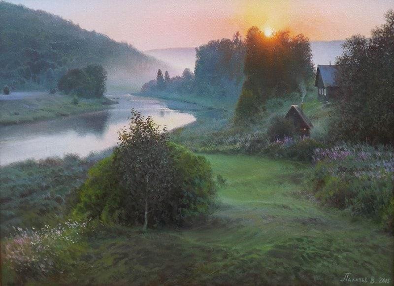 пейзажи Вячеслав Плотников - 06