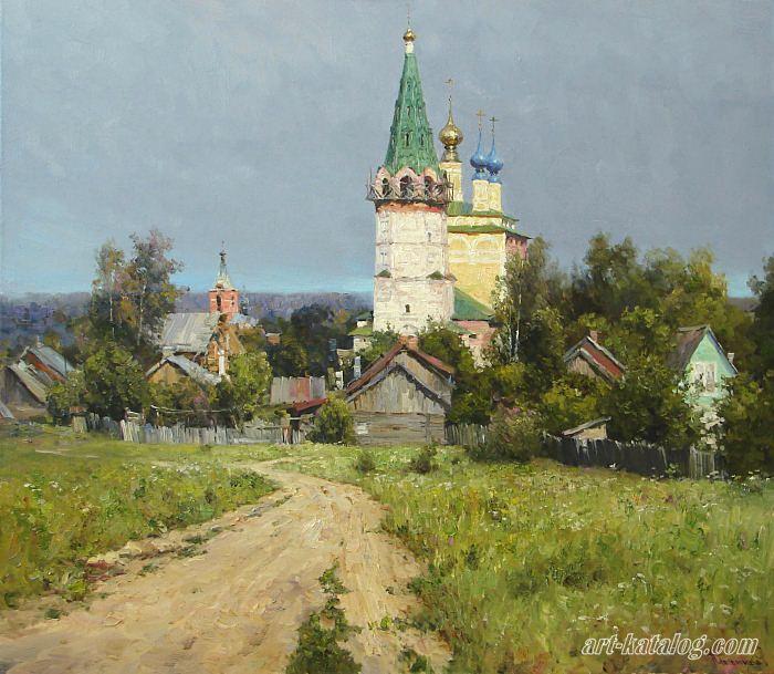 пейзажи Вячеслав Плотников - 07