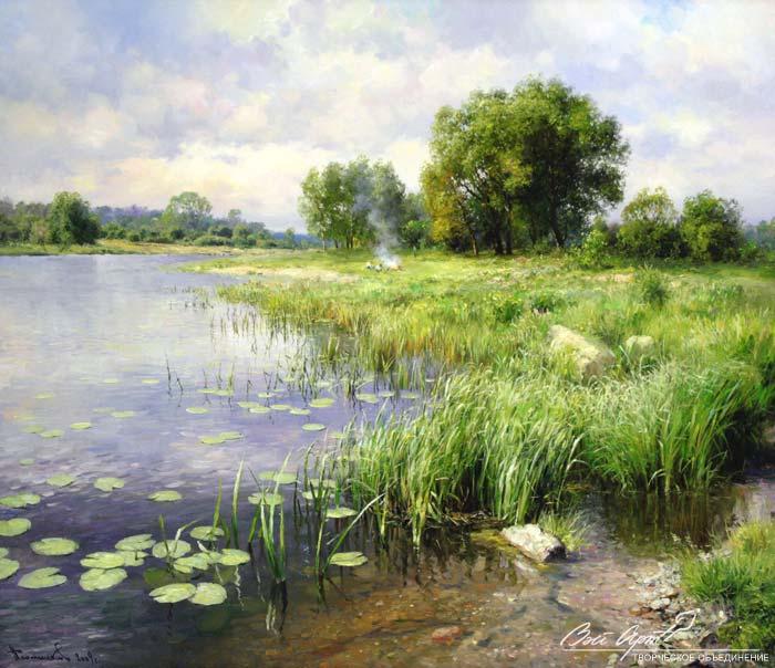 пейзажи Вячеслав Плотников - 09