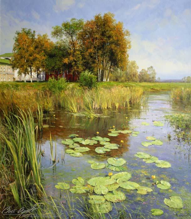 пейзажи Вячеслав Плотников - 10