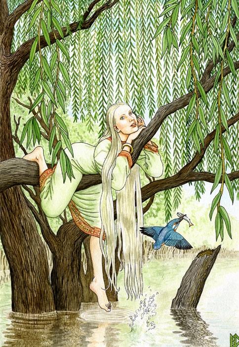 Николай Фомин деревья в женских образах - 05