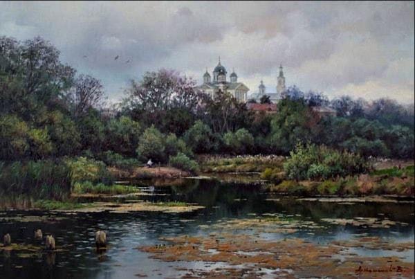 сельский пейзаж- 05