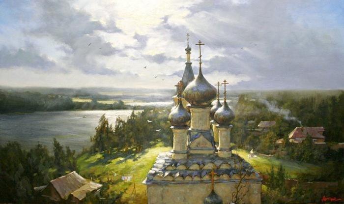 сельский пейзаж- 10
