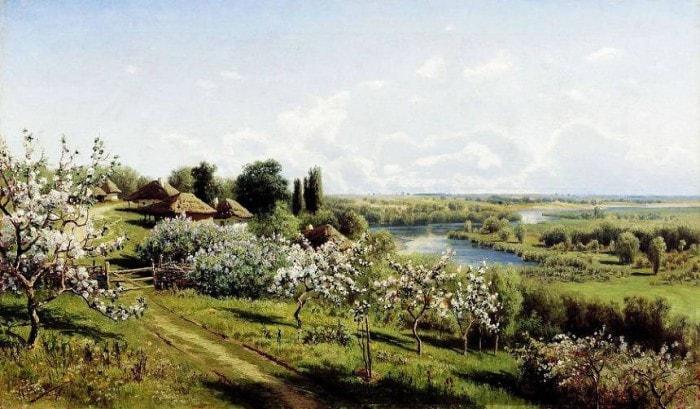 сельский пейзаж- 11