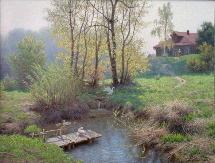сельский пейзаж- 12