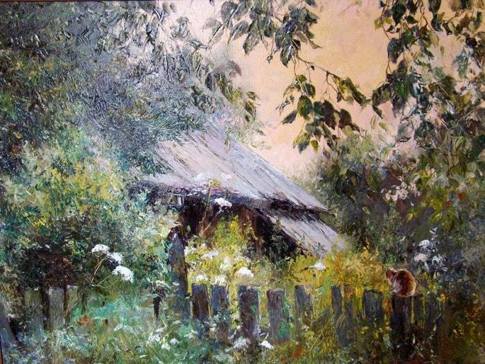 сельский пейзаж- 15