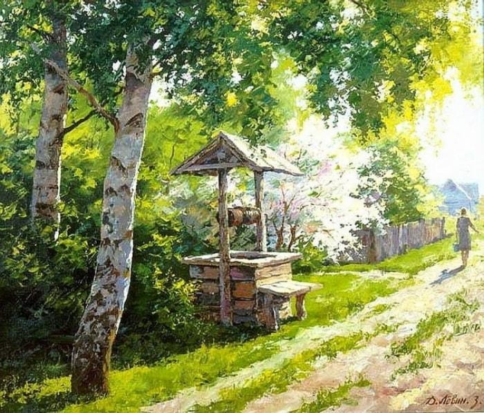 сельский пейзаж- 16