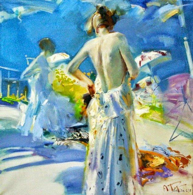 женские образы Александр Горбиков - 06