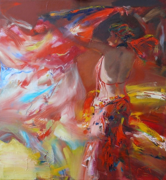 женские образы Александр Горбиков - 08