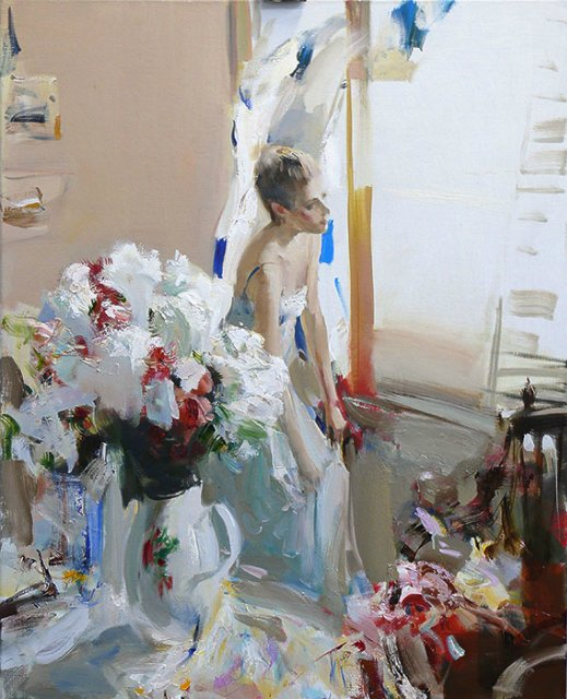 женские образы Александр Горбиков - 10