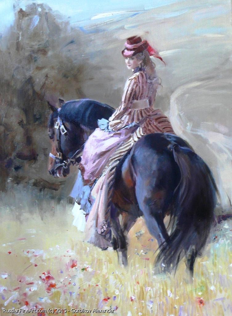 женские образы Александр Горбиков - 12