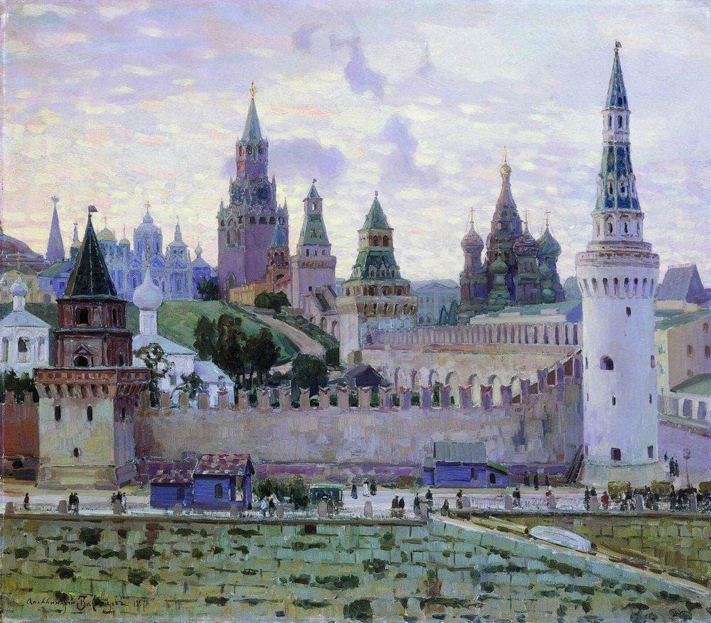 старая Москва Аполлинария Васнецова - 03