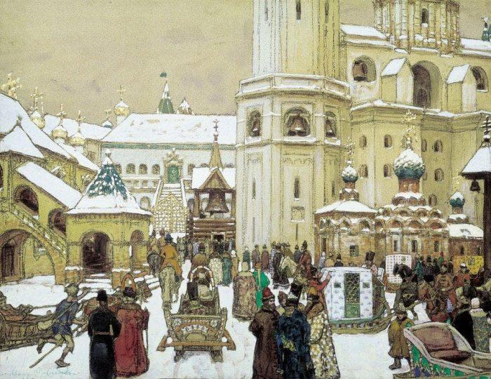 старая Москва Аполлинария Васнецова - 04