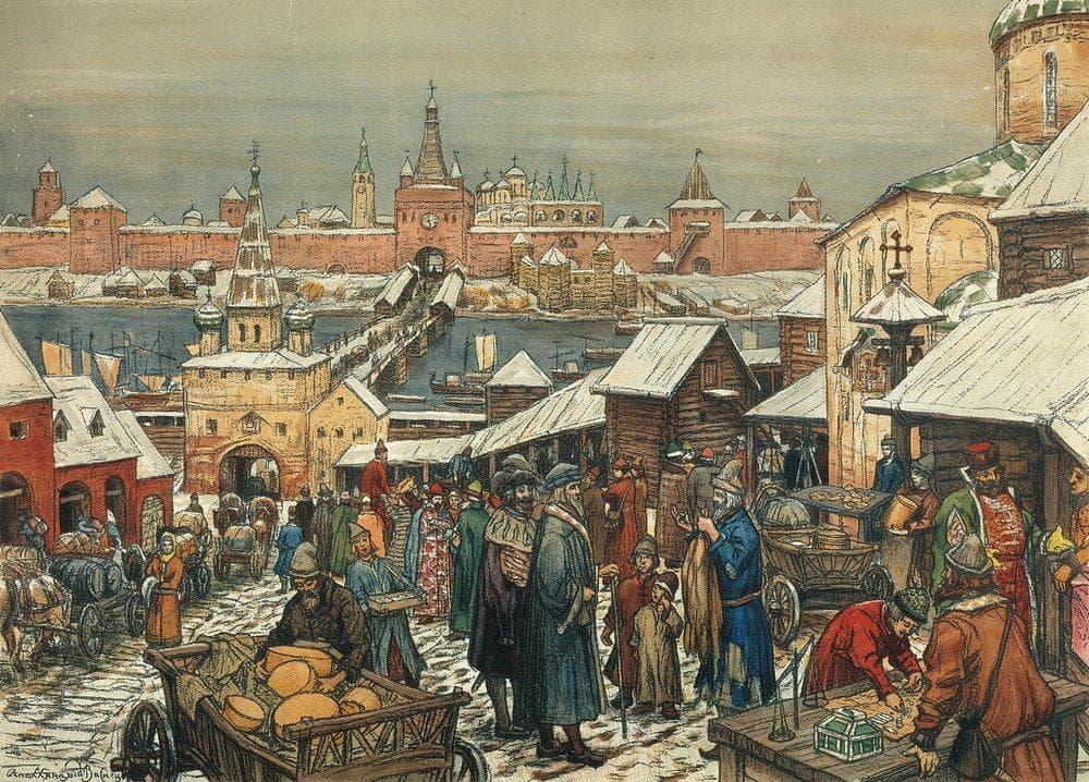 старая Москва Аполлинария Васнецова - 07