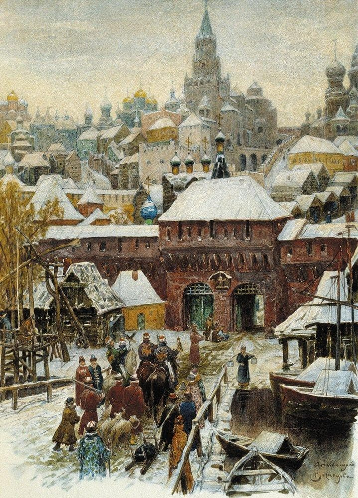 старая Москва Аполлинария Васнецова - 12
