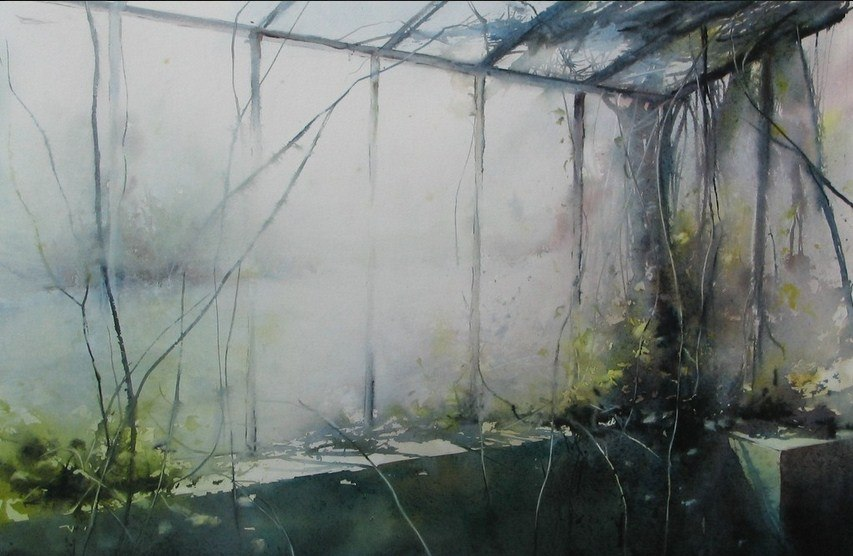 акварели художника David Chauvin - 01