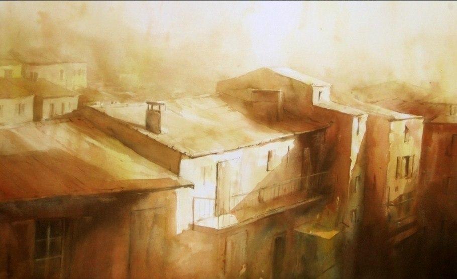 акварели художника David Chauvin - 04